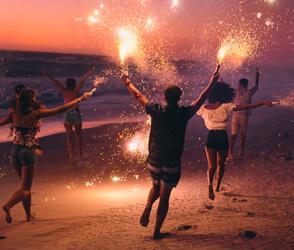 Año Nuevo en Canasvieiras